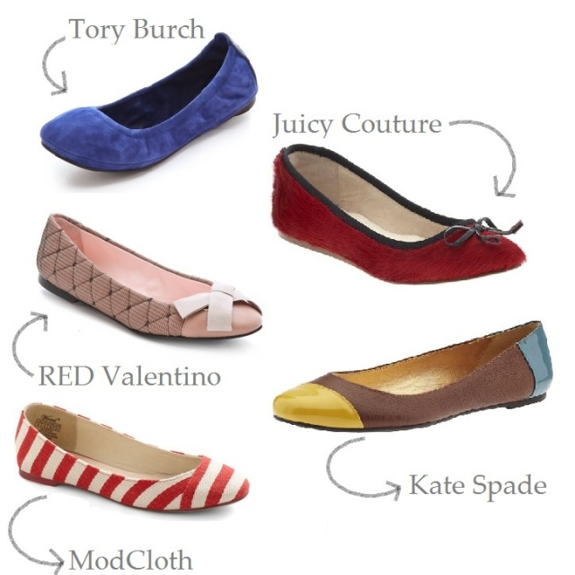 flats, shoes, ballet flats, simple ballet flats