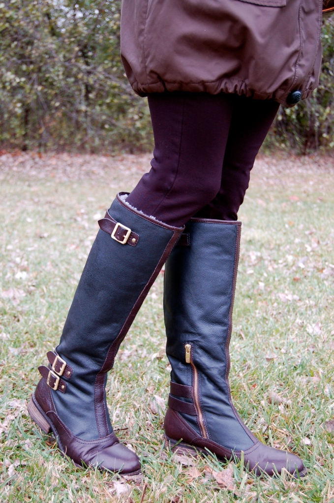vince camuto boots, fall boots, shoes, vince camuto boots, fur lined riding boots, riding boots