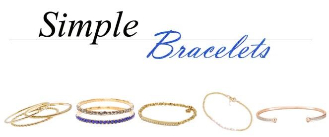 small braclets, J. crew bracelets, madewell bracelets, dana rebecca jewelry, michael kors bracelet