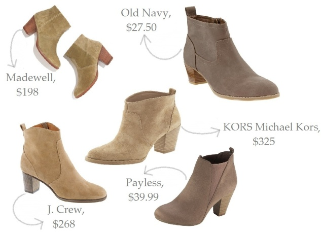 boots, ankle boots, suede ankle boots, suede booties, shoes