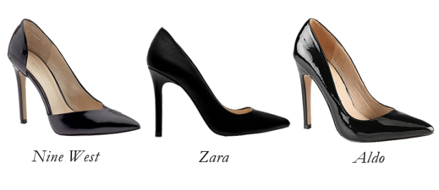 nine west black heels, zara black pumps, aldo black heels, simple black heels, black stilettos, classic black pumps
