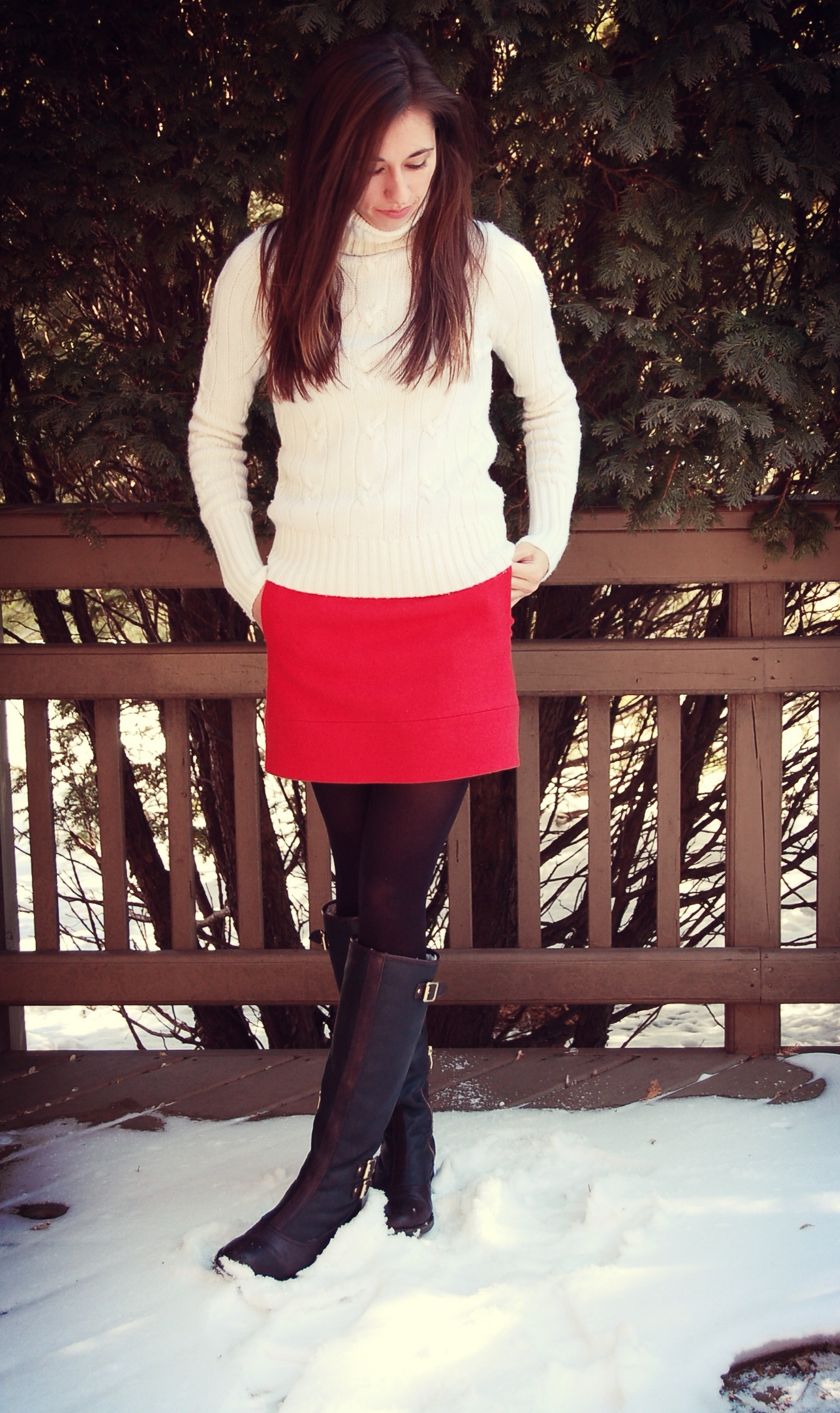 Little Red Riding Skirt | asimplestatement