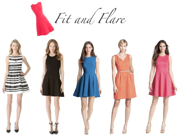 simple fit and flare dresses, fit flare dresses, flare dresses