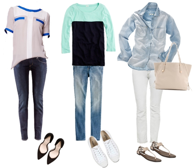 simple outfits with jeans, simple jeans and shirt outfit, simple spring outfits with jeans