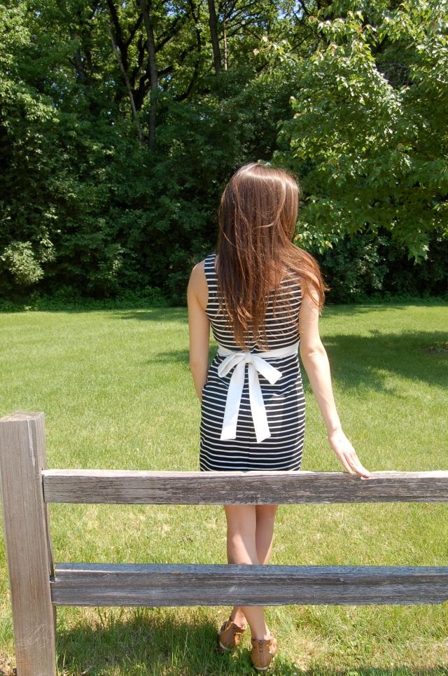 forever 21 stripe dress, classic stripe dress