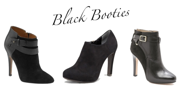 black ankle booties, ankle boots skinny heel, black high heel booties, nine west booties, dvf booties, tory burch booties