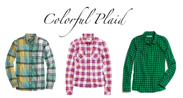 madewell plaid shirt, j.crew plaid shirt, colorful plaid shirts, pre-fall plaid shirts, plaid shirts for fall
